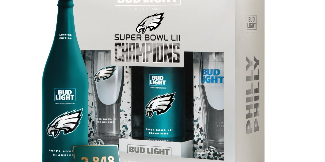 "Bud Light Releases Commemorative ""Philly Philly"" Pack to Honor Eagles Superbowl"