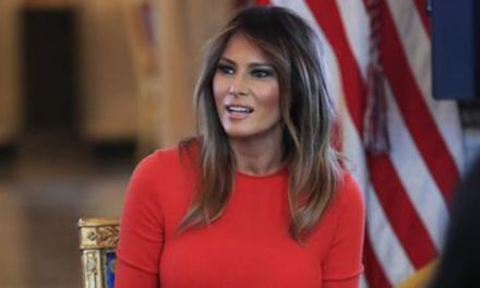 Melania Trump Came to LeBron's Defense after Her Husband Criticized the NBA Star