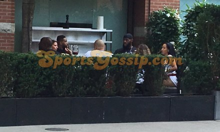 Lebron James And Tristan Thompson Hanging with Some Ladies in Toronto