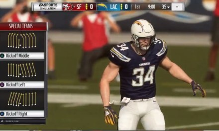 Madden Still Has the Chargers Playing in San Diego