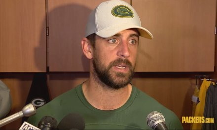Aaron Rodgers Rants About the Anthem and Franchise Tags
