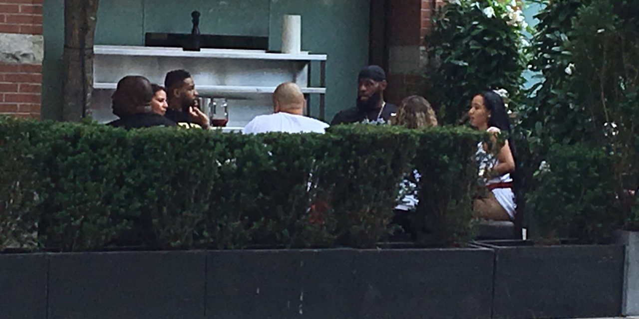 The Two Ladies Who Had Lunch With LeBron and Tristan Thompson Have Been Revealed