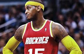 Carmelo Anthony to Come off the Bench for Rockets