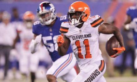 Browns Kept Antonio Callaway in Game as Punishment