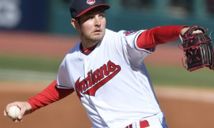 Trevor Bauer Placed on the DL with a Stress Fracture after Taking a Line Drive Off of His Ankle
