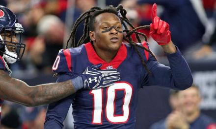 DeAndre Hopkins eclipsed by mom in the Hollywood film stakes