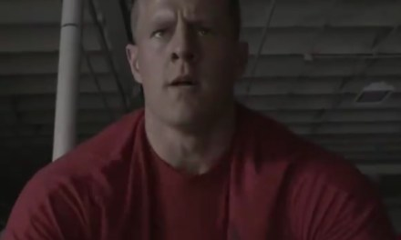 J.J. Watt's New Reebok Ad Reminds Us How Much He Likes to Workout