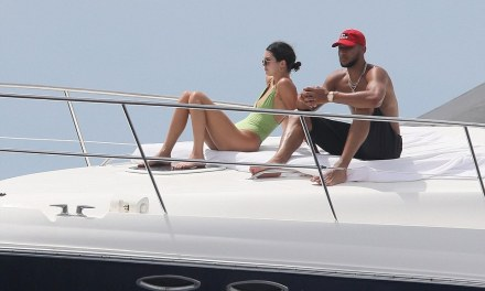 Ben Simmons and Kendall Hit up a Yacht Before they Returned home From Mexico