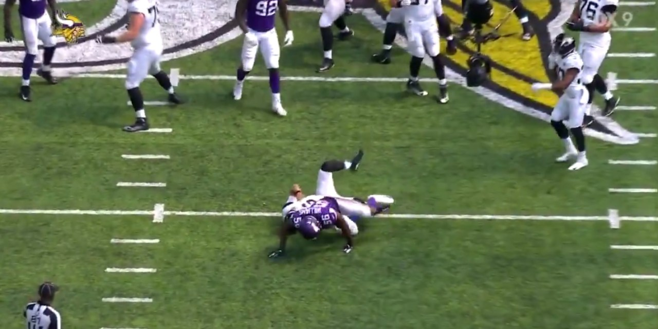 Sacking the Quarterback is Now Considered Roughing the Passer