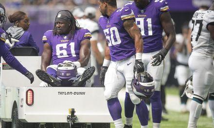 Vikings Lose 6 players to Injury in Preseason Game