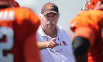 Offensive Line Coach Bob Wylie is Something to Watch in Hard Knocks