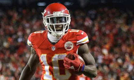 Tyreek Hill's Domestic Violence Conviction Dismissed and Expunged from his Record