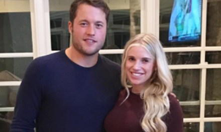 Matthew Stafford's Wife Gives Us the First Look at Their New Addition