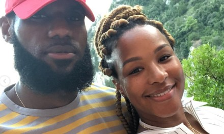 LeBron James Wishes his Queen Savannah a Happy Birthday