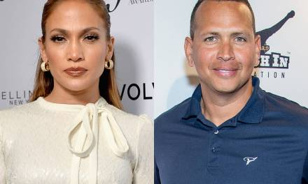 Jennifer Lopez and Alex Rodriguez Slip out the Back After a Date at Craig's