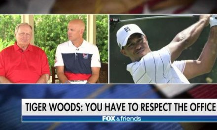 Jack Nicklaus Backs Tiger Woods on Trump