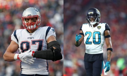 Jalen Ramsey Takes Shots at Gronk and Amendola
