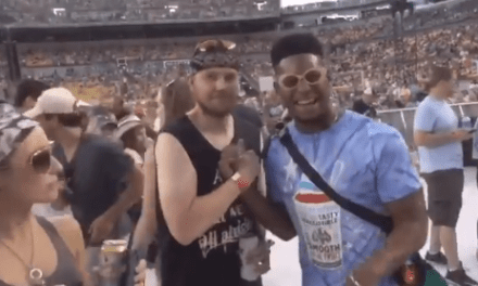 JuJu Smith-Schuster Went to a Kenny Chesney Concert