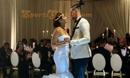 Steph Curry's Sister Sydel Got Married this Weekend