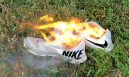 Man Burns His Nikes Because of Colin Kaepernick Ad Campaign