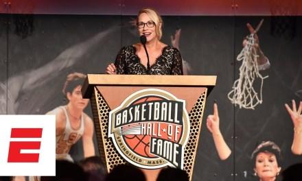 Drake's Woman Crush Doris Burke Gifted Curt Gowdy Media Award