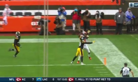 Josh Gordon Makes a Ridiculous Catch for a Touchdown to Tie the Game