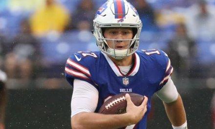 Bills to Start rookie QB Josh Allen in Week 2