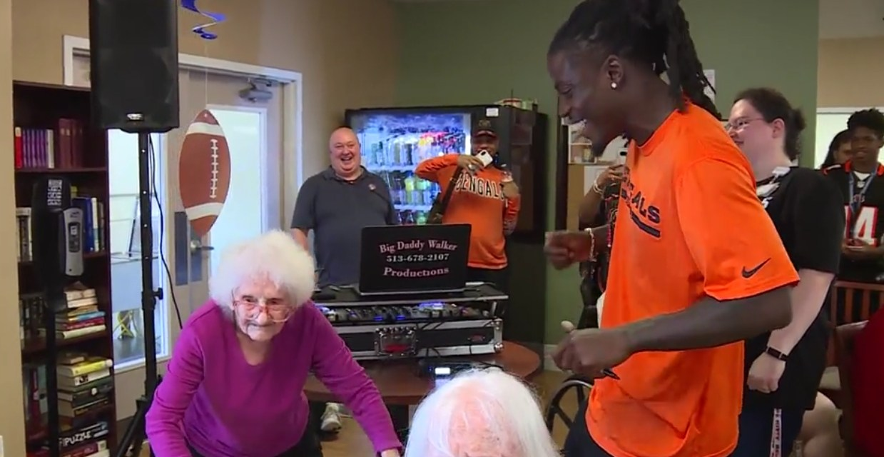 Bengals Cornerback Dre Kirkpatrick Partied at a Nursing Home ahead of Thursday Night's Game
