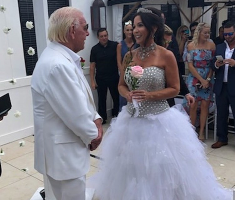 Ric Flair Marries for Fifth Time with Longtime Fiance Wendy Barlow