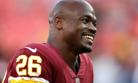 Adrian Peterson's Goal is to be Best Running Back Ever