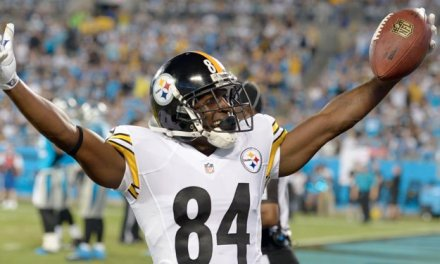 Antonio Brown Fires Back at Former Steelers Employee after the Employee Credited Ben Roethlisberger with His Success