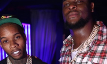 Le'Veon Bell Spent Monday Night in a Miami Nightclub for His Album Release Party