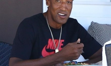 Scottie Pippen Gets Snapped at Lunch Wearing Jordans