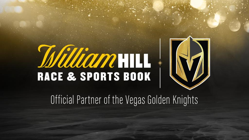 Golden Knights Sign First Sportsbook Deal with William Hill
