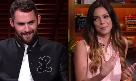 "Kevin Love to Katie Nolan: ""I'm Sure you Get the Real Eggplant"""