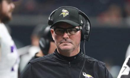 Mike Zimmer Claims a Referee Admitted to Flagging a Vikings Defender for a Legal Hit