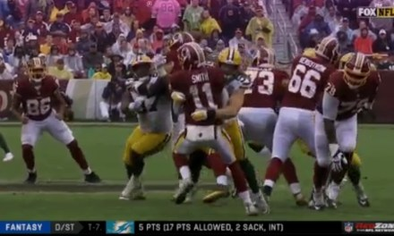 Clay Matthews Can't Stop Roughing the Passer