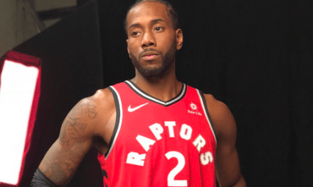 """""""Fun Guy"""" Kawhi Leonard Laughs Like a Maniac During Introductory Press Conference"""