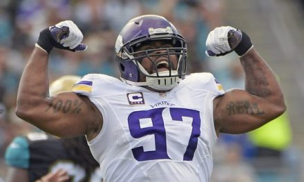 Vikings Everson Griffen Missed Sunday's Game Because He Threatened to Shoot Someone at a Hotel