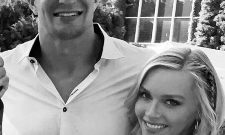 Rob Gronkowski's Girlfriend Camille Kostek Keeps Seeing the Number 69