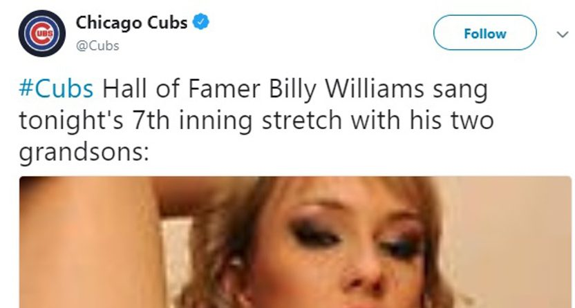 Cubs Sent Out Porn in a 2012 Tweet