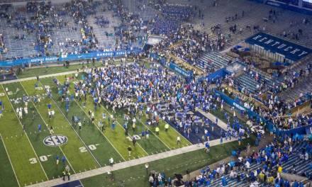 SEC Fines Kentucky $100,000 After Fans Rush Field Following Victory
