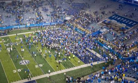SEC Fines Kentucky $100,000 After Fans Rush Field Following Victory