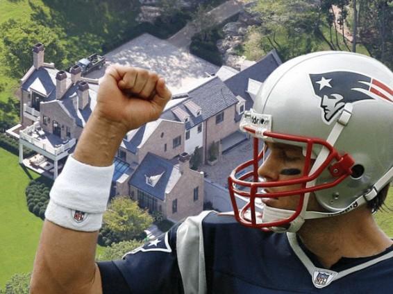 A Tour of Tom Brady's Custom-Designed 'Castle'
