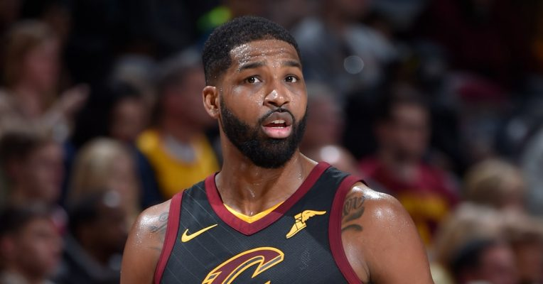Tristan Thompson Reportedly Spotted Being Touchy Feely with Another Girl