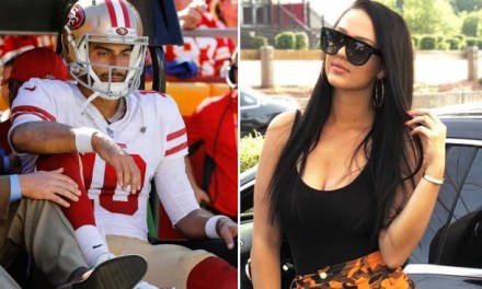 Jimmy Garoppolo's Ex Alexandra King Reveals Hate Mail After She Called Jimmy's Injury Karma