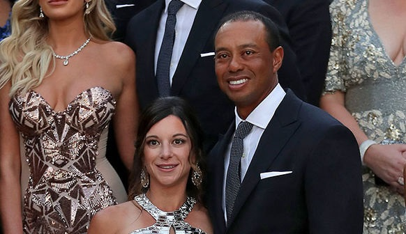 Tiger Woods and Girlfriend Erica Herman Hit the Ryder Cup Gala