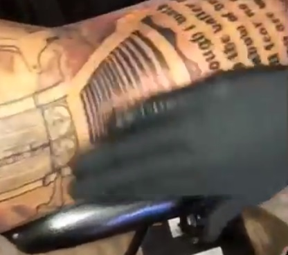 Lonzo Ball's Shooting Arm is Now Completely Tattooed
