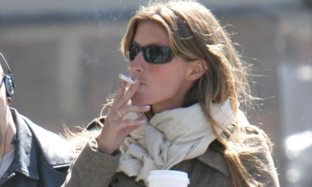 Tom Brady's Wife Gisele Smoked a Pack of Cigarettes and Drank a Bottle of Wine Every Day