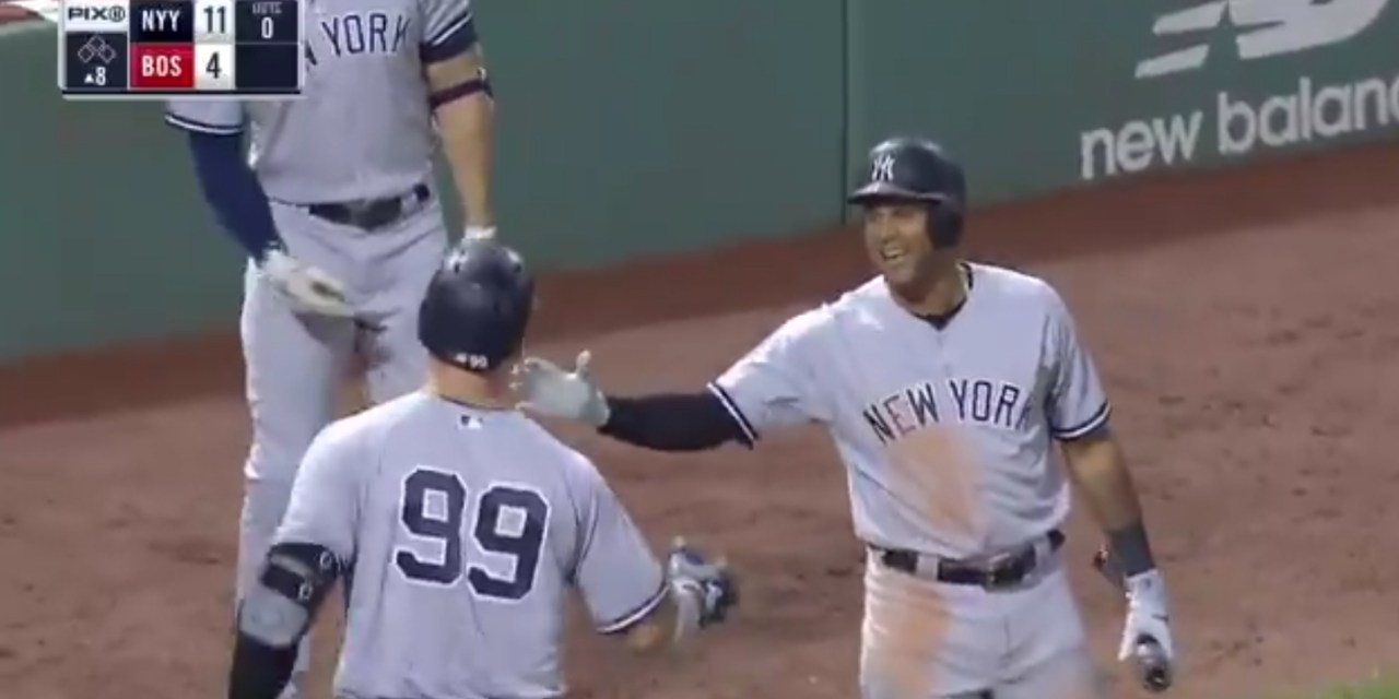 Aaron Judge's First Home Run Since Trip to the DL Ties Single Season Team HR Record